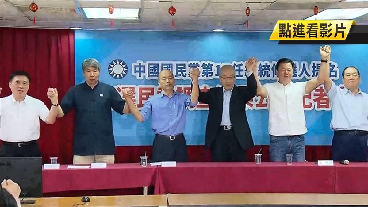 國民黨拚2020!韓國瑜、黨中央雙作戰成形