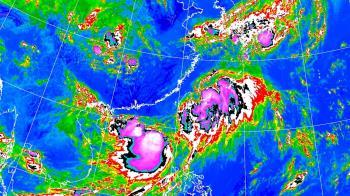 南海低壓恐成颱風?鄭明典:到陸上肯定淹