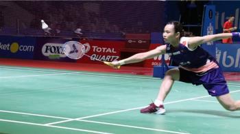 戴資穎首局落後8分大逆轉 晉級印尼羽賽8強