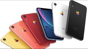 20年彩虹蘋果復活?傳新iPhone將推復古版Logo
