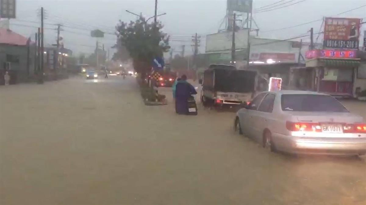時雨量破百!中南部防豪雨