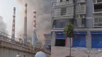 河南氣化廠爆炸!震碎民宅玻璃 釀2死18傷