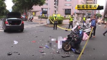 疑闖燈撞機車!19歲騎士亡 駕駛:綠燈起步