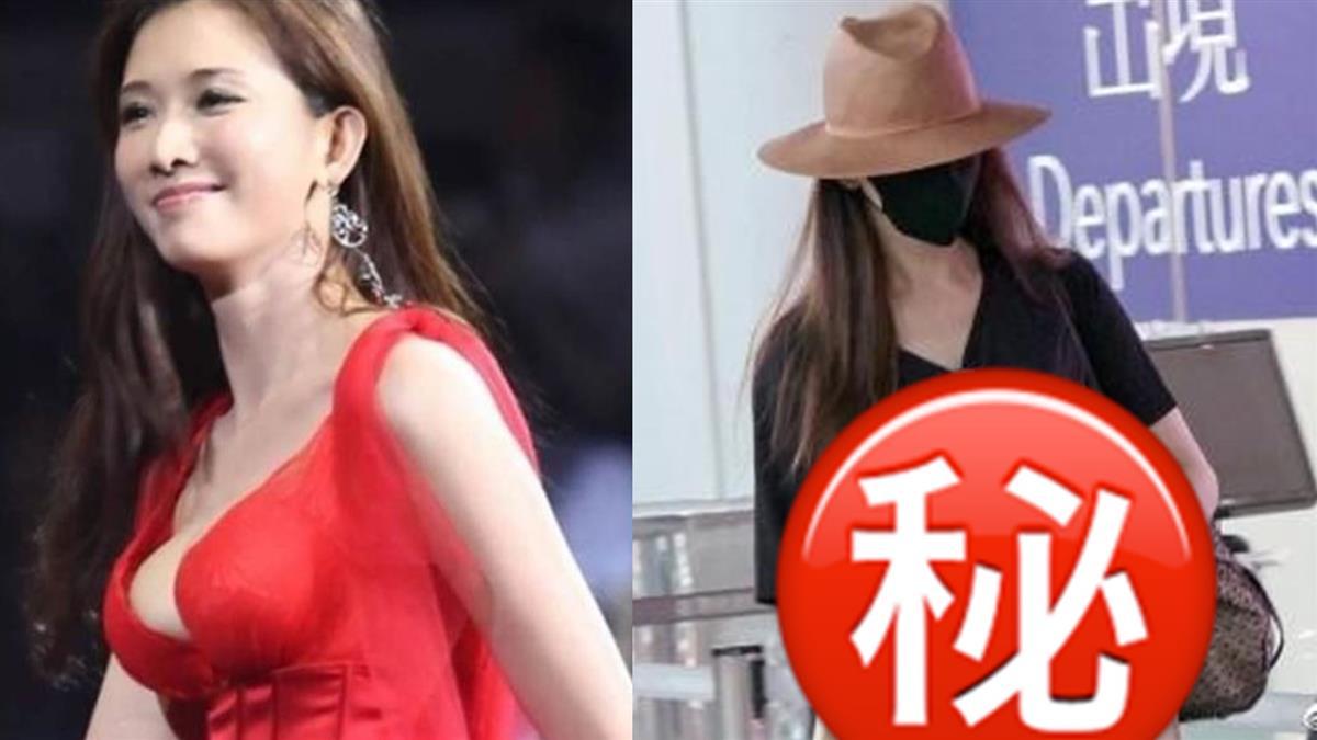 44歲林志玲爆真的懷雙胞胎!明顯凸肚嚇死人