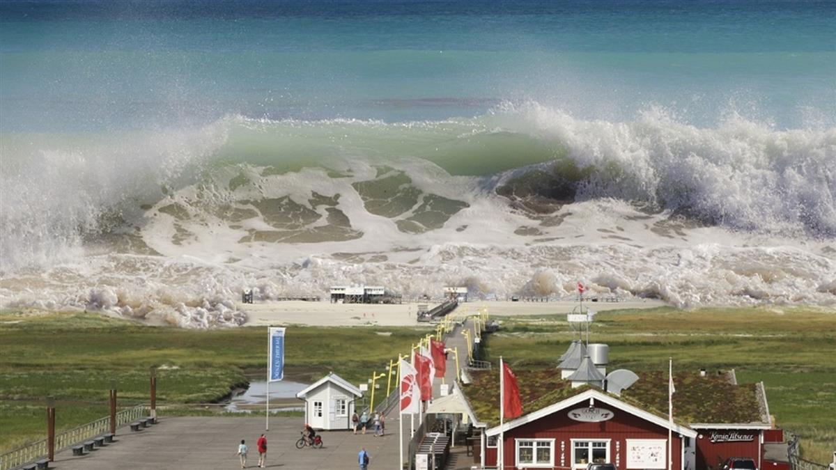 1公尺海嘯能致命!專家曝殘酷真相:死亡率100%