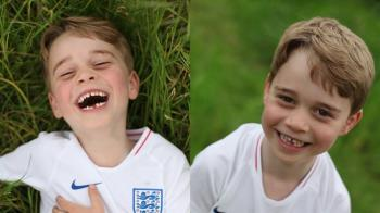 喬治王子滿6歲 下排缺一齒…超萌