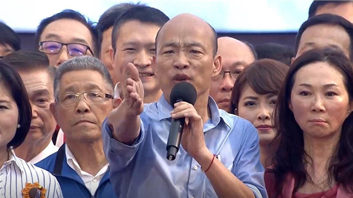 團體發動罷免 韓國瑜嗆:若做不好罷免自己