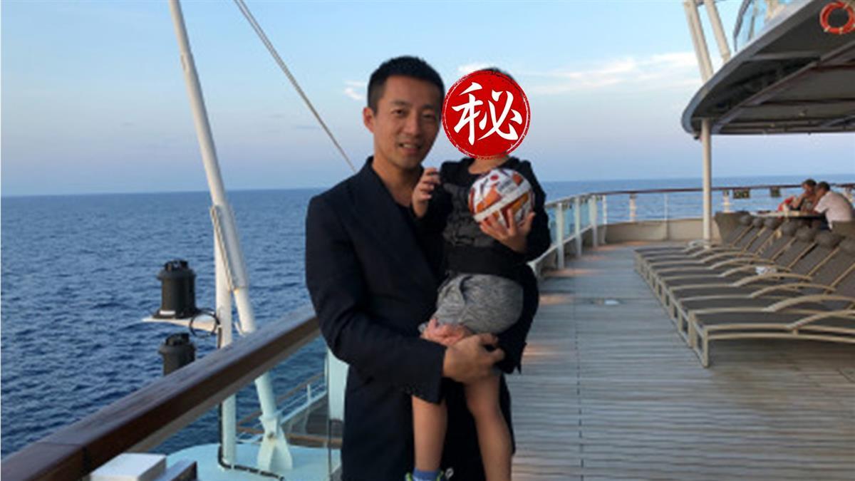 汪小菲3歲兒正面照曝光!網驚:又高又帥