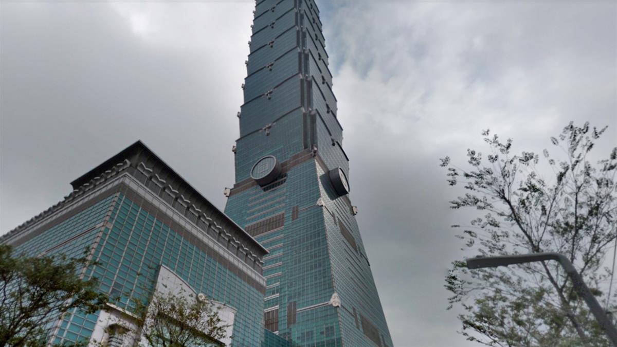 台北101驚傳工人墜樓 1人慘摔遮陽板當場死亡