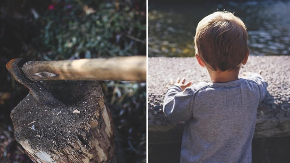 我被斧頭砍死!3歲童曝前世埋屍處 挖開嚇壞