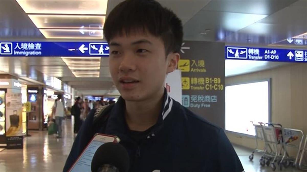 桌球神童擊敗陸2名將!林昀儒光榮返台
