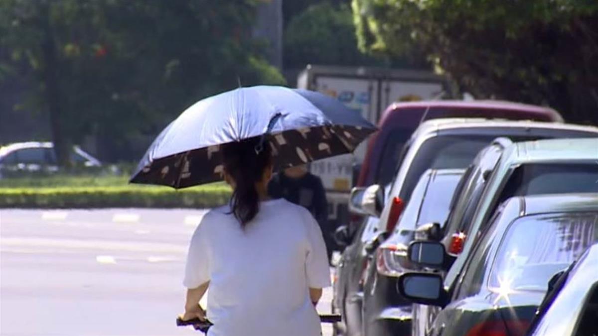 防中暑!悶熱高溫飆35度 各地留意午後雷陣雨