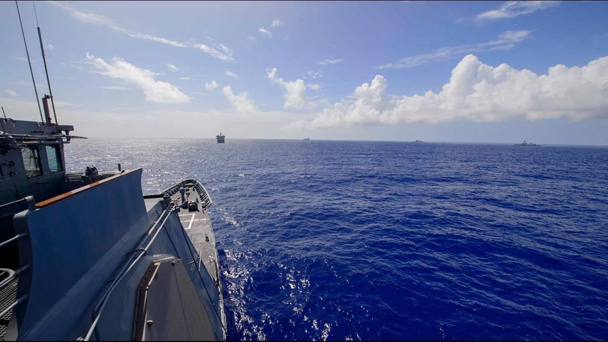 北京昨嗆不惜代價打台獨 美艦今再穿越台海