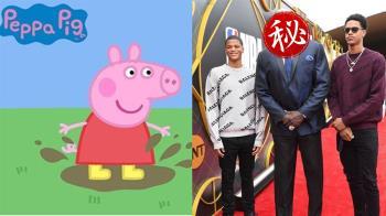 驚!佩佩豬216公分高 網推NBA球探快來找