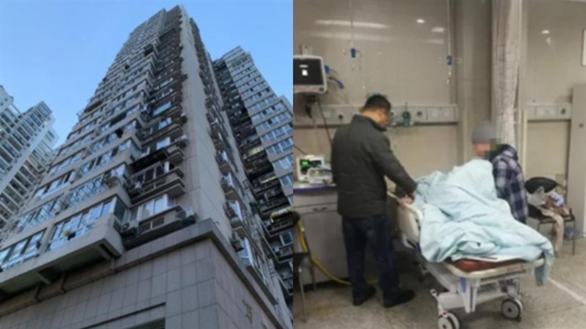 2孫女被反鎖嚎哭!心急奶奶爬窗…下秒慘墜26樓