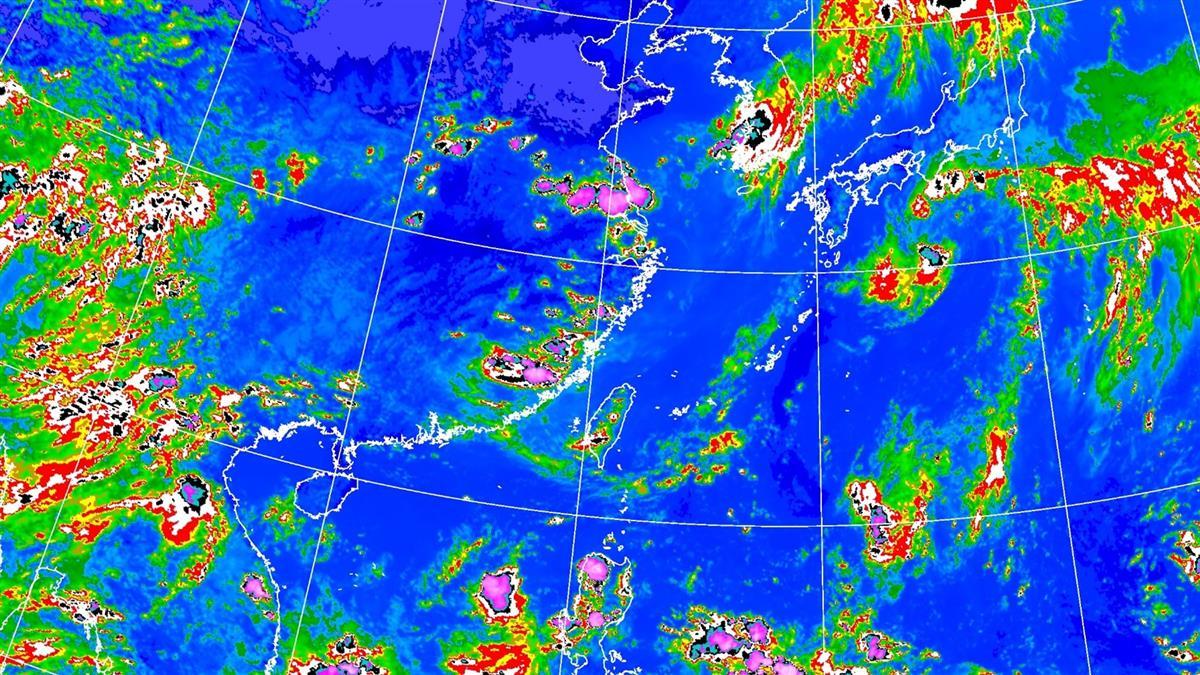 防雷擊強陣風!北中南16縣市發布大雨特報