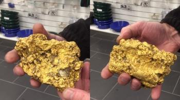 挖2kg黃金!男秒獲350萬 還有226噸沒發現