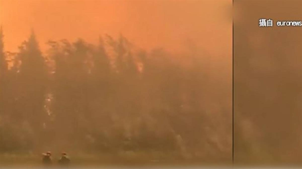 地表最大火災!北極圈野火煙霧 大到太空也看得見