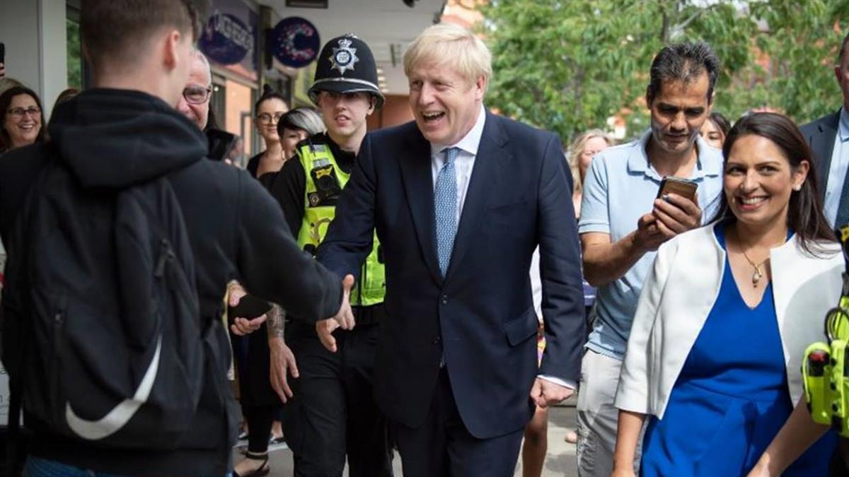 「英版川普」強森上任新首相 掛保證:10月底前脫歐