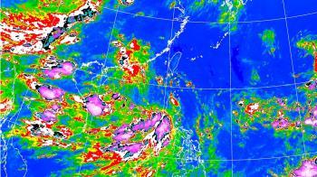 8月入颱風旺季!本周水氣撲台 強降雨熱區曝光