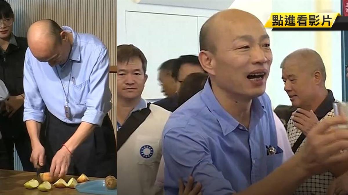 藍中評委要求戒酒 韓國瑜自豪:絕不會喝醉