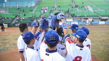 U12少棒中華隊32分大勝斐濟  晉級複賽