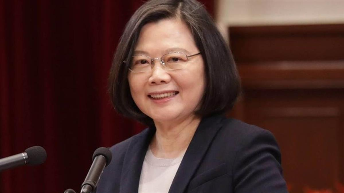 總統:台灣第2季經濟成長 勇奪亞洲4小龍之冠