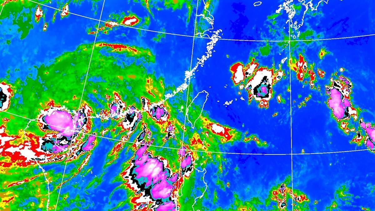 午後防大雷雨、冰雹!8號颱風最快周末生成