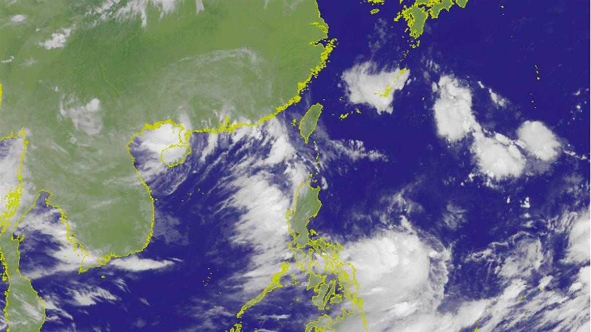 第8號颱風「范斯高」生成!路徑曝光