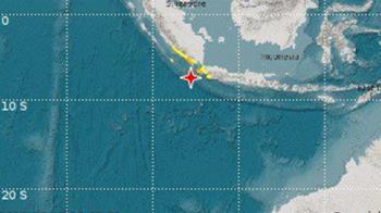 印尼蘇門答臘外海7.0強震!發布海嘯警報