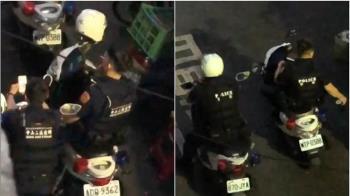 抽菸亂丟!警遭錄影PO網 中山分局怒嚴懲