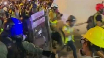 12萬黑衣人上街示威!警狂射催淚彈強攻黃大仙