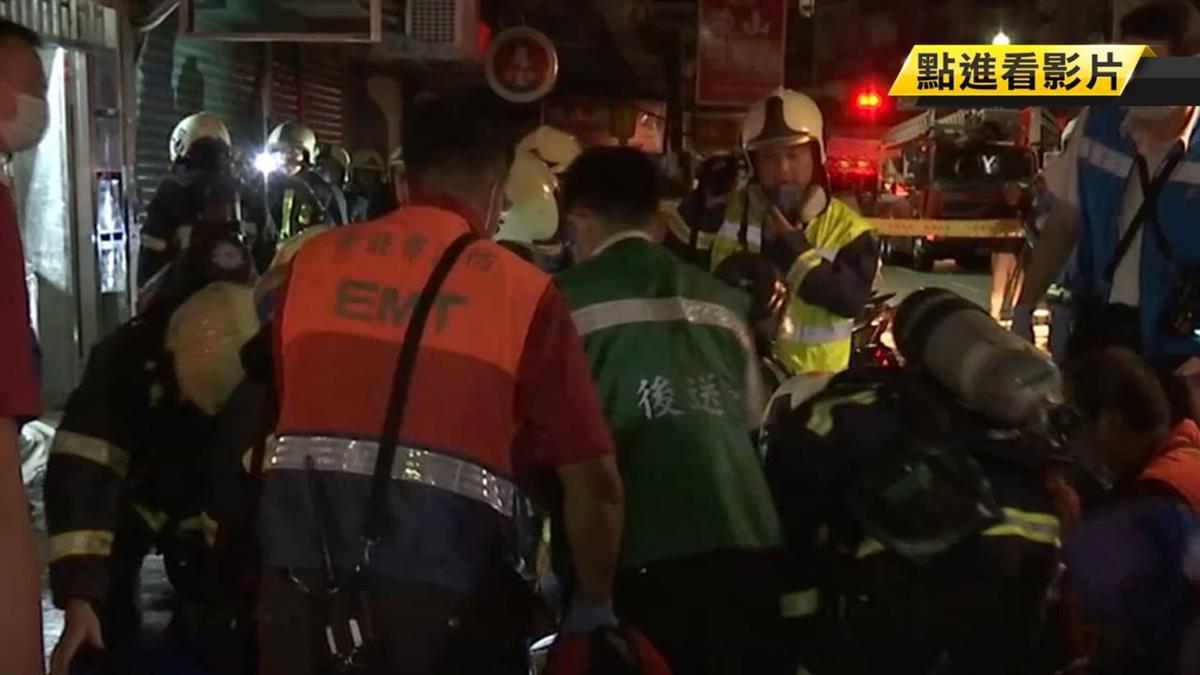 內湖2樓公寓竄惡火!子疑救80歲老母慘雙亡