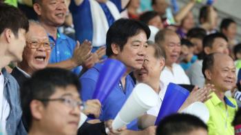 U12中華隊奪冠!賴清德到場見證勝利時刻