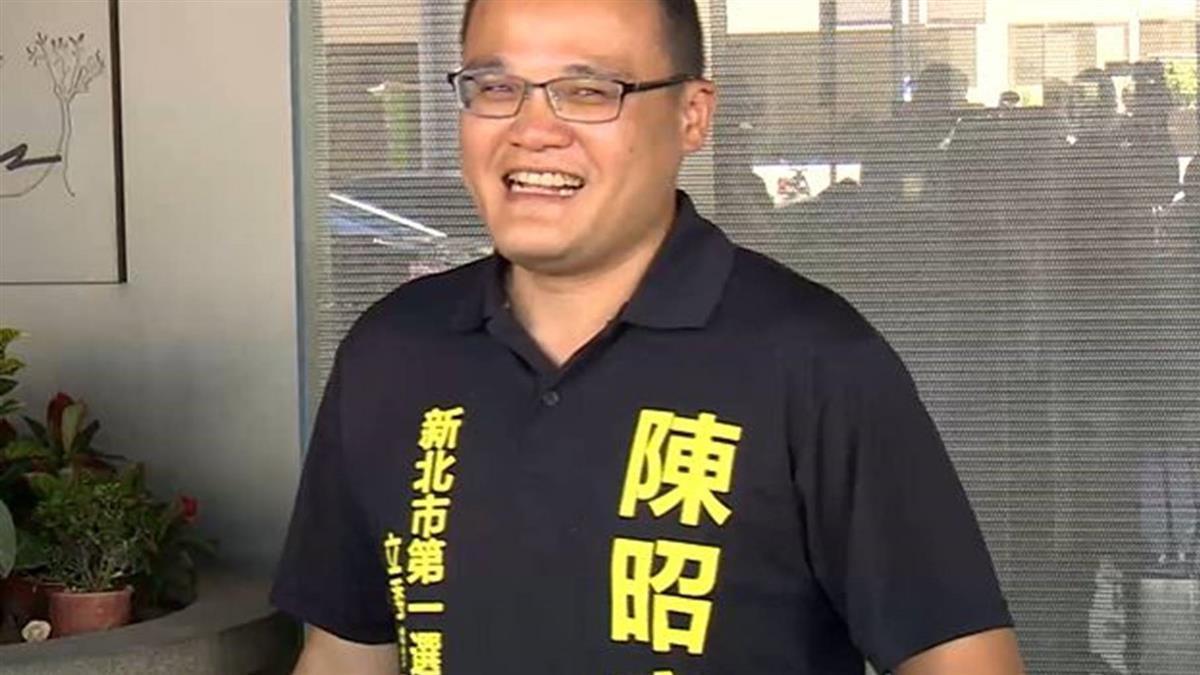 遭酒駕女撞截肢 陳昭宏擬參選新北無黨籍立委