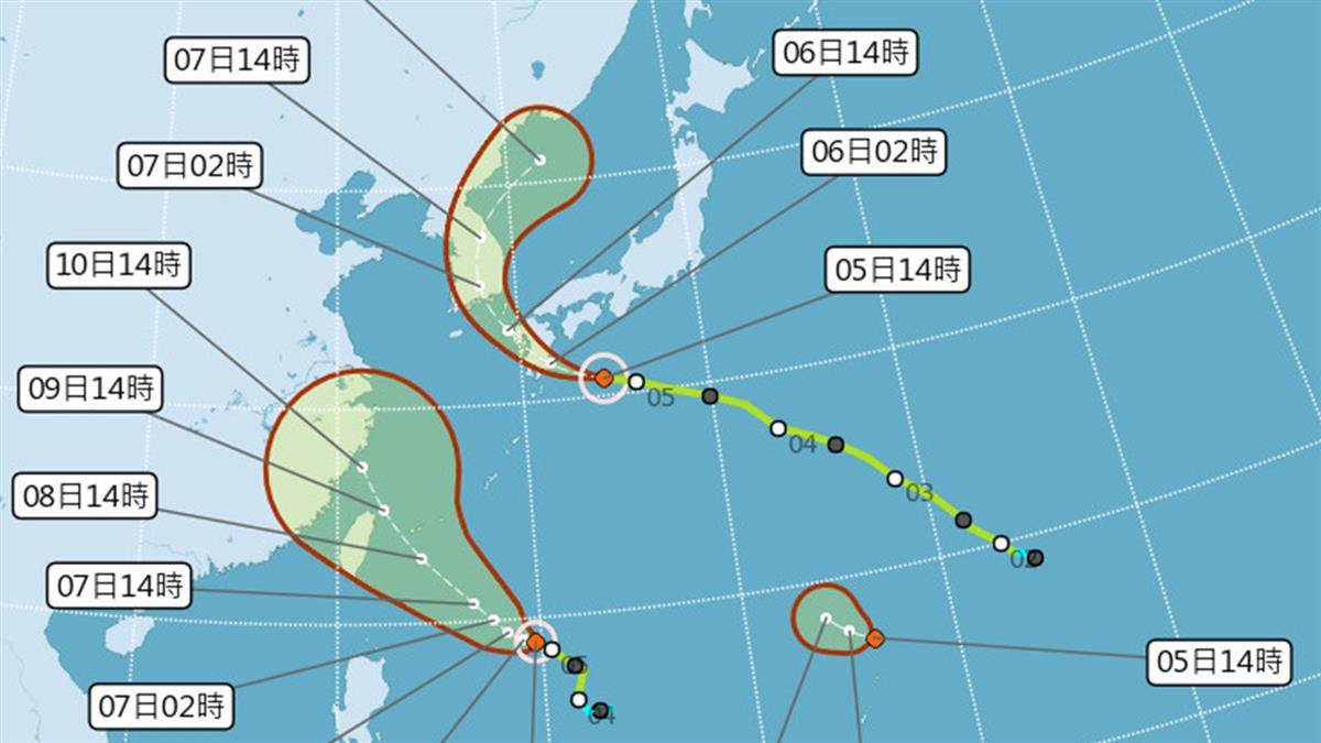 又有新颱風?第10號柯羅莎最快明生成 路徑曝光