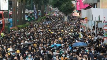 至今最大反送中抗爭!香港「三罷」夜未眠