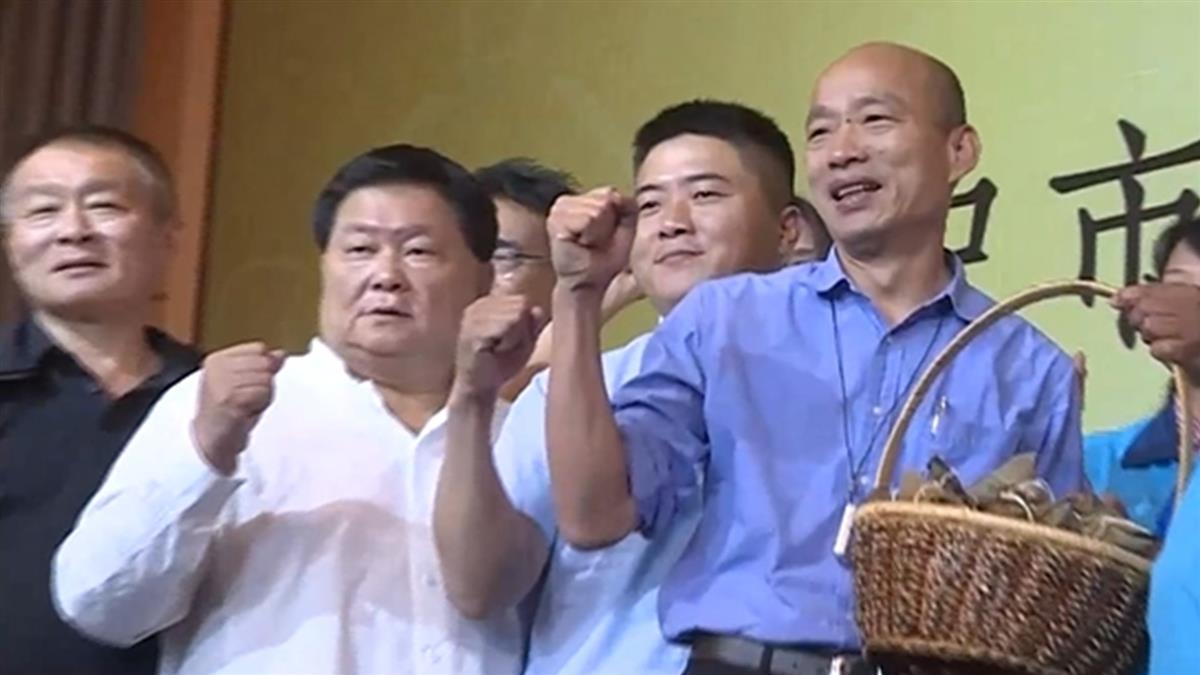 顏清標南下高雄挺韓!狂讚:他是庶民總統