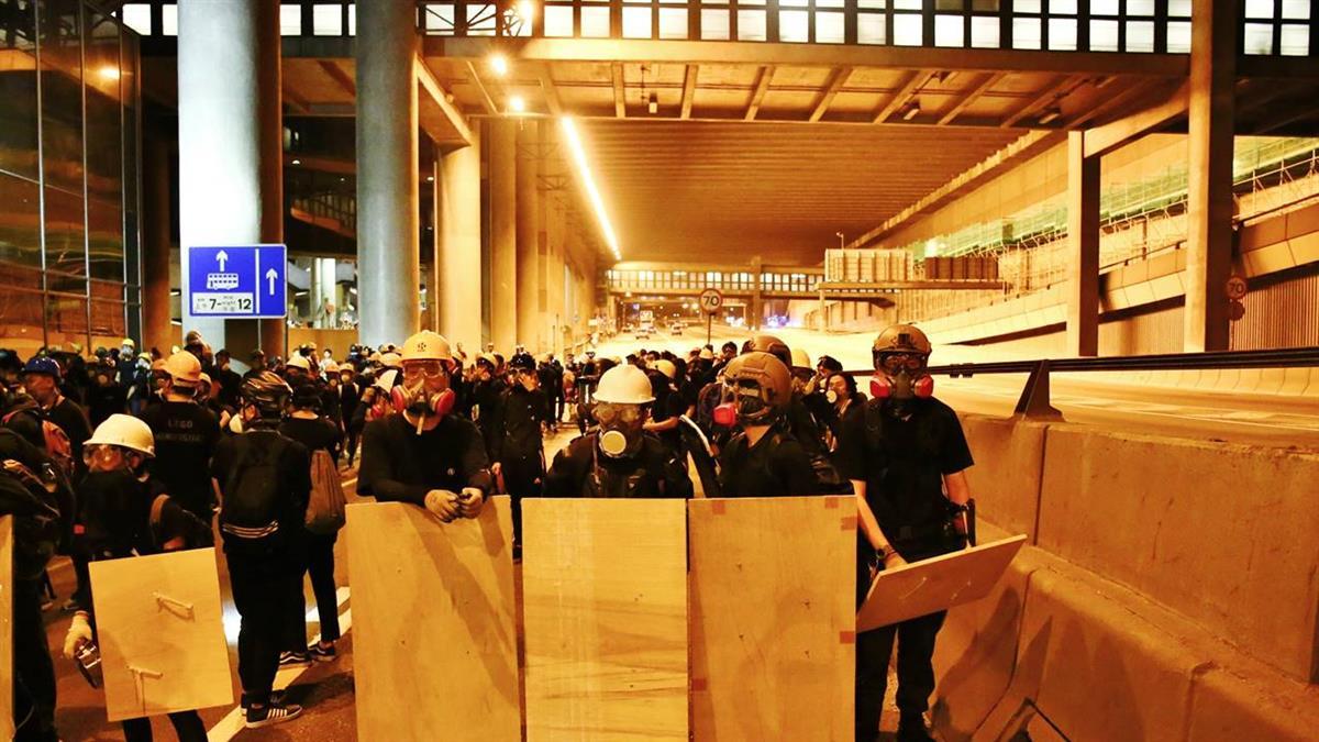 反送中抗爭逾2個月 全港罷工衝擊金融