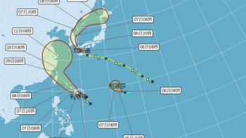 三颱共舞!10號颱風柯羅莎生成 預計路徑曝