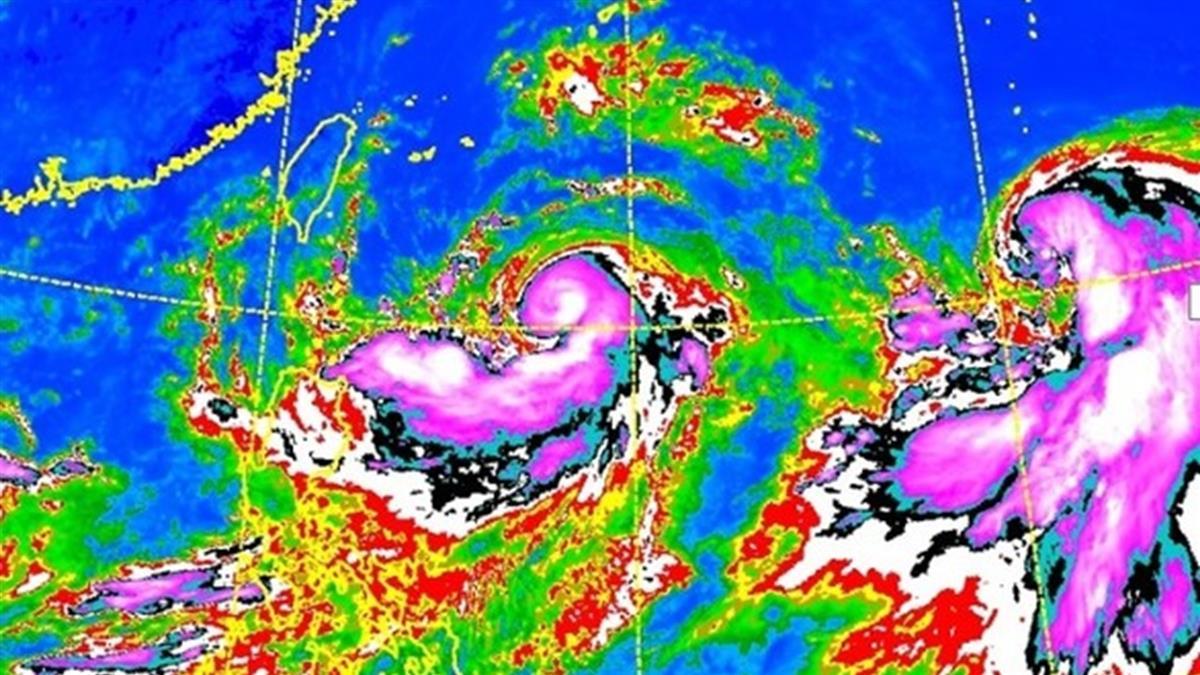 暴風半徑持續擴大!利奇馬轉中颱 降雨熱區曝