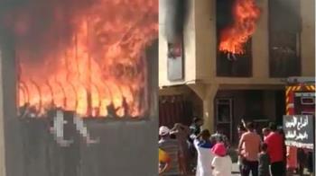 充電器爆炸!7歲女童困鐵窗 雙腳懸空活活燒死