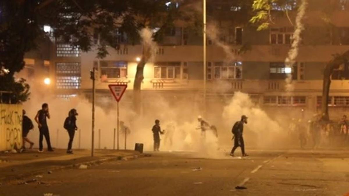 點名台灣!陸港澳辦批:對香港衝突指手畫腳