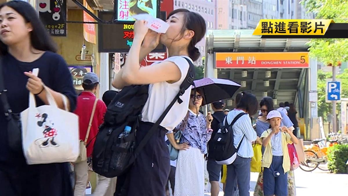 永康商圈日韓客居多!陸散客禁令衝擊小