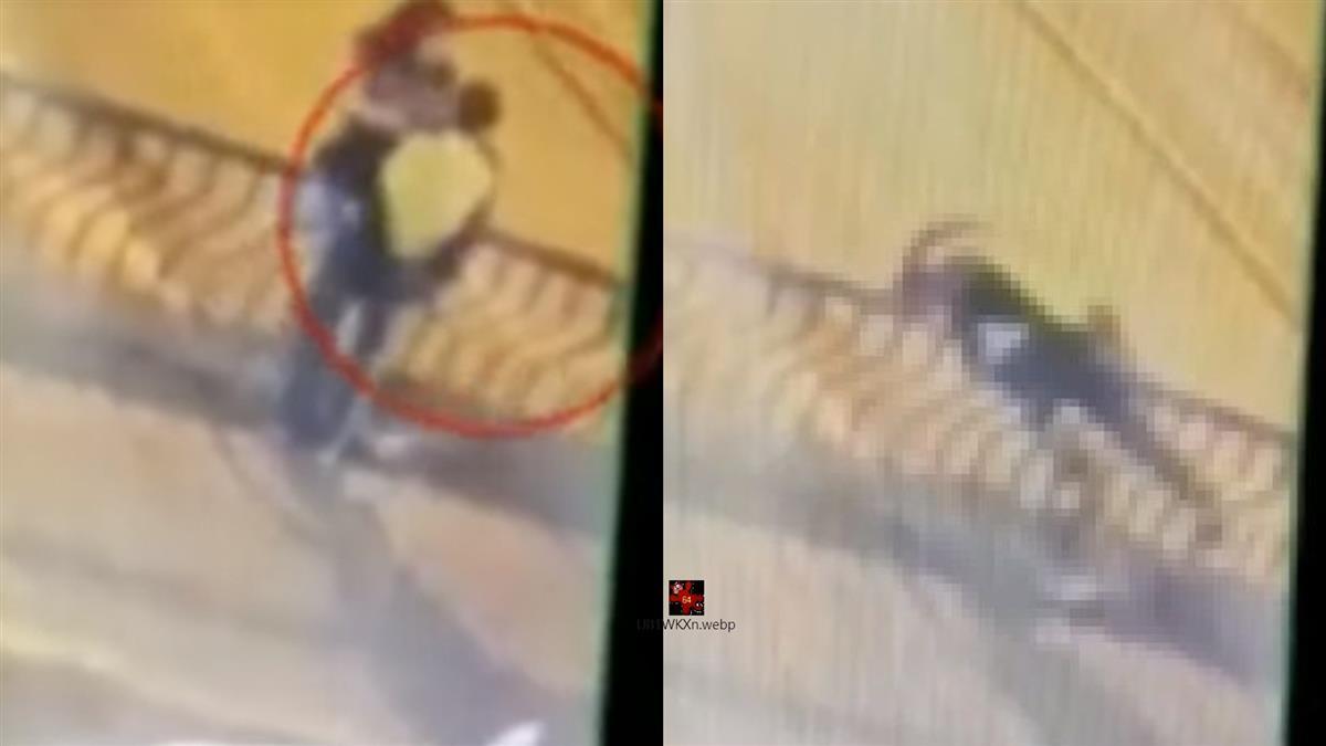 橋上熱吻!女跨坐欄杆夾緊男友…失衡雙雙摔死