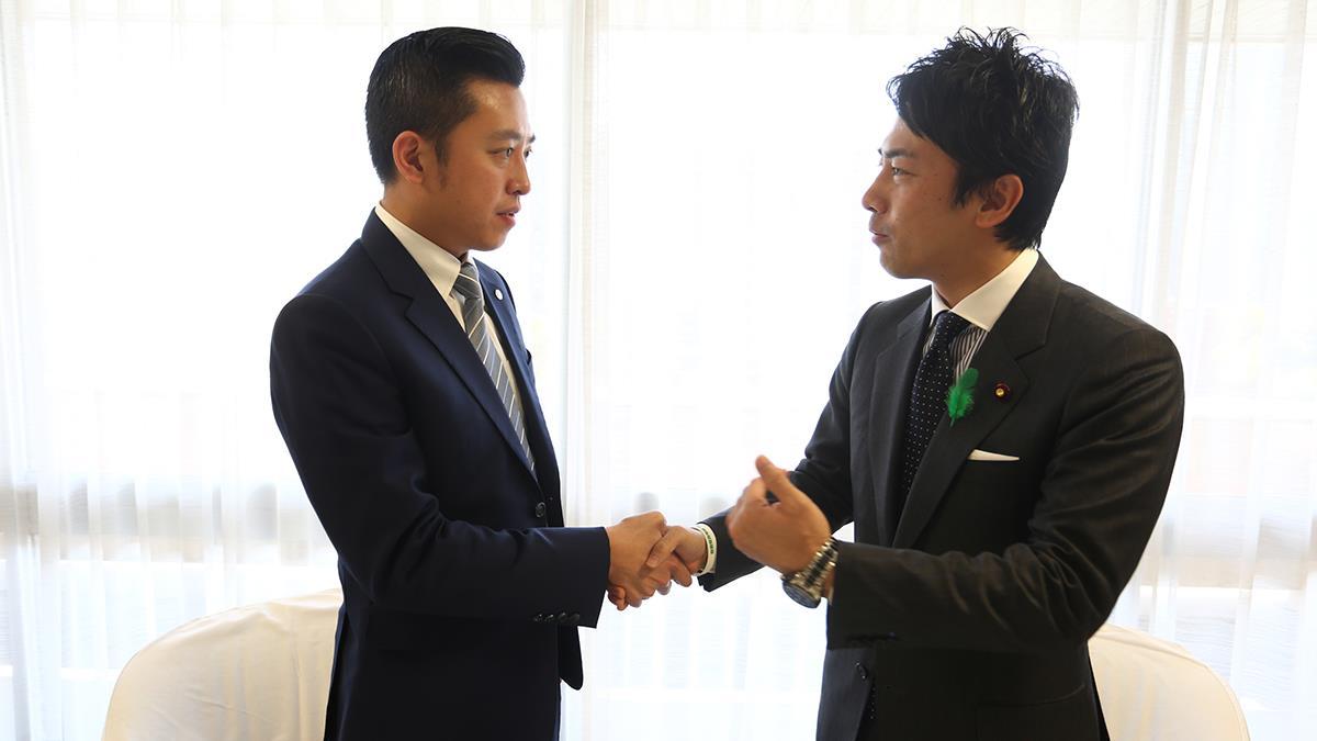 日本型男議員小泉進次郎結婚喜訊 林智堅暖心祝賀 揭兩人跨海情誼