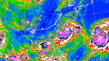 利奇馬威力等同4級颶風!新竹、桃園納警戒範圍