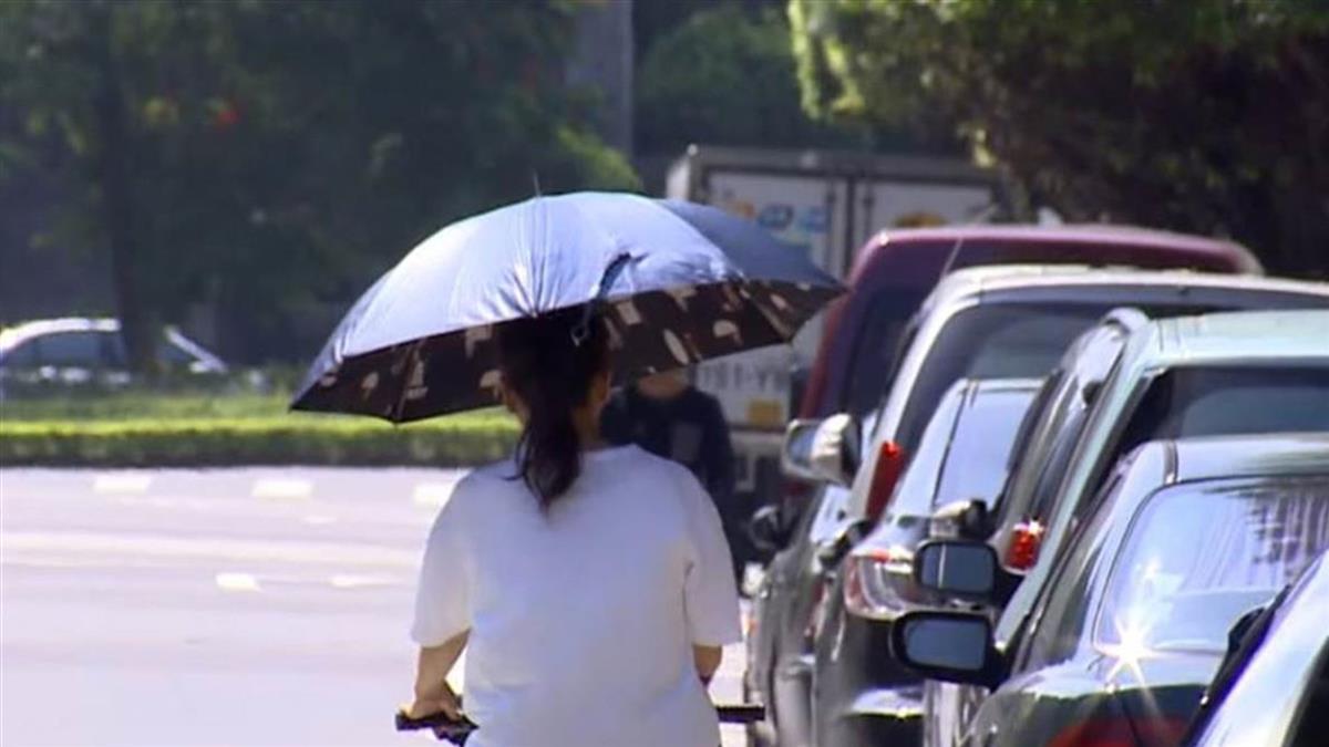 颱風遠離!11縣市防豪大雨 花東飆38度極端高溫