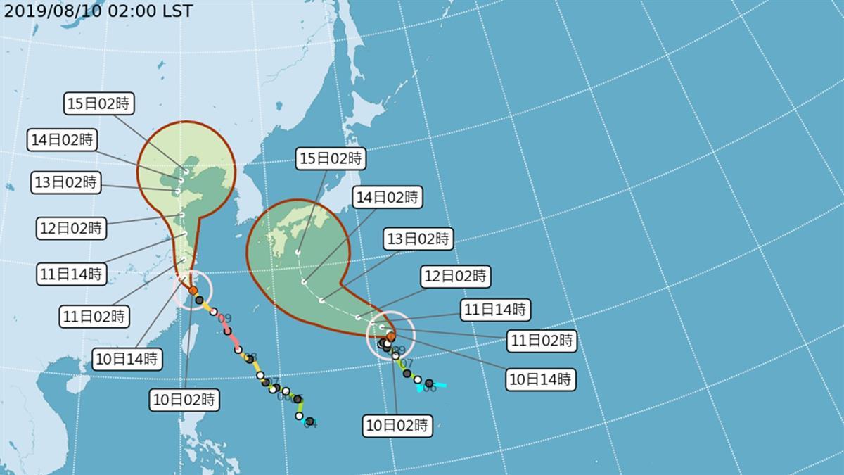 利奇馬解除海警!中南部連6天嚴防豪大雨