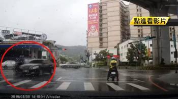 目擊駕駛肇事卻離開現場 正義姊追車半路攔